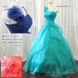 ロングドレスカラードレス演奏会用ドレス/ディテール1