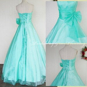 カラードレスロングドレスAラインプリンセスライン二次会舞台衣装ステージ衣装ウエディングドレス結婚式花嫁衣裳