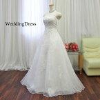 ウエディングドレスウェディングドレス結婚式二次会披露宴お色直しオフホワイト白ドレス花嫁衣裳フォトウエディングレストランウエディング7号9号11号SサイズMサイズ