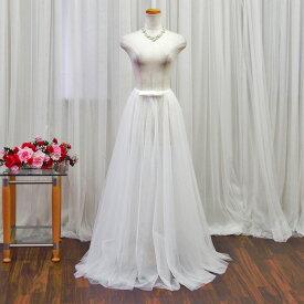 アレンジ 巻きスカート オーバースカート ドレス ワンピース ミニドレス ロングドレス ドレスアレンジ ウェディングドレス トレーン 簡単お手軽お色直し(SKT13390-T)