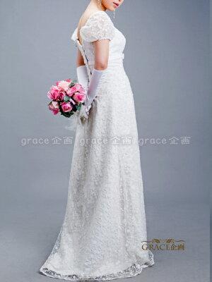 grace企画サイズオーダー|ウエディングドレス|オフホワイト