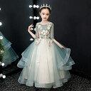 ピアノ発表会 ドレス 子供ドレス ワンピース お姫様 着やせ 上品 エレガント 女の子 結婚式 子供 フォーマル キッズド…