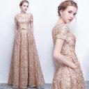 パーティードレス レディース ロング丈 結婚式 母親 ドレス ワンピース 袖有り ウエディングドレス フォーマル お呼ば…