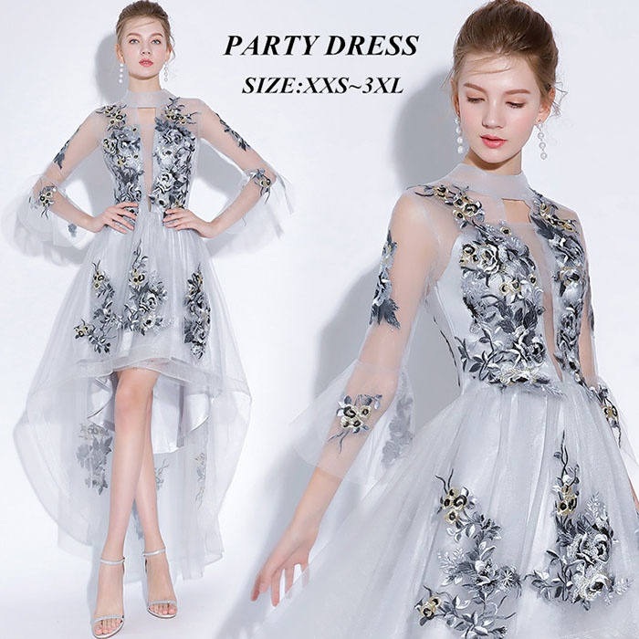 【サイズ有2XS〜3XL】パーティードレス レディース ドレス 結婚式 ワンピース ウエディングドレス フォーマル ドレス お呼ばれ 結婚式 ドレス 二次会 ピアノ 発表会 披露宴 演奏会 ドレス 大きいサイズ 大人 dd355l2l2x2/代引不可