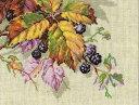 RIOLIS ブラックベリー Blackberries クロスステッチ 刺繍キット リオリス