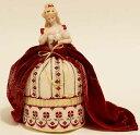 ドールピンクッションキット シモーナ ハーフドールとクロスステッチ 刺繍図案のセット *刺繍糸付き*