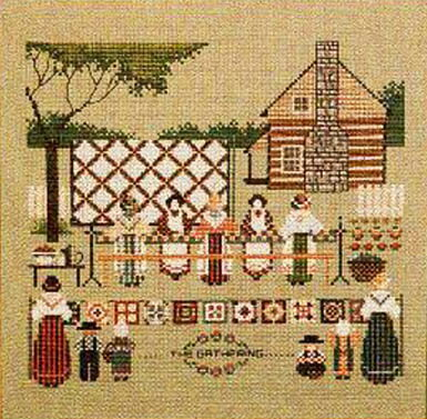 Told in a Garden クロスステッチ 刺繍図案 Piecemakers II