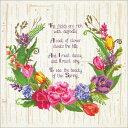 メール便送料無料 クロスステッチ 刺繍キット Janlynn 春のセンチメント ジャンリン クロスステッチキット ししゅう …