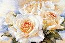 メール便送料無料 アリサ ALISA 花のクロスステッチ 刺繍キット ホワイトローズ バラ クロスステッチキット クロスス…