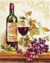 メール便送料無料 アリサ ALISA クロスステッチ 刺繍キット イザベラ ワイン・葡萄 クロスステッチキット クロスステ…