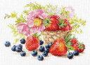 メール便送料無料 アリサ ALISA クロスステッチ 刺繍キット イチゴ 花・フルーツ・果物 クロスステッチキット クロス…