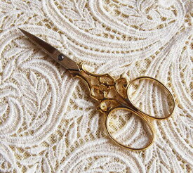 刺繍ハサミ ws83ゴールド ドイツ ゾーリンゲン製 手芸 糸切り 刺繍