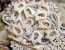 刺繍糸の仕分け・整理に便利  白蝶貝のスレッドリング 10個セットブルーベル マザーオブパール