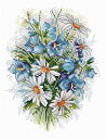 MPスタジオ/MP Studia クロスステッチ刺繍キット 草花 14ct 植物 クロスステッチキット ししゅう 刺繍