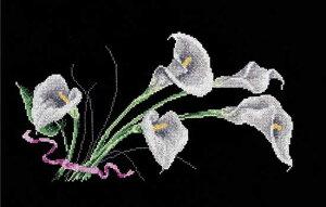 オーブン OVEN クロスステッチ刺繍キット カラー 14ct 花 クロスステッチキット ししゅう 刺繍