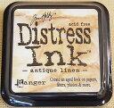 ディストレス インク アンティーク リネン スタンプ用インクパッド