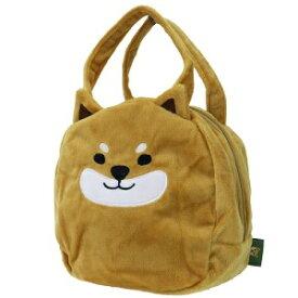 バッグ 【柴田さんの住む東京わさび町 しばたさん ぬいぐるみバッグ】柴犬 犬雑貨 BR