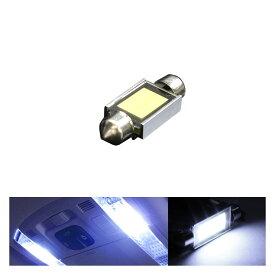 あす楽 T10 面発光 LEDルームランプ T10×36mm 枕型 フェストンバルブ ホワイト ラゲッジ ルーム球 ランプ ライト 汎用