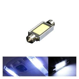 あす楽 T10 面発光 LEDルームランプ T10×39mm 枕型 フェストンバルブ ホワイト ラゲッジ ルーム球 ランプ ライト 汎用