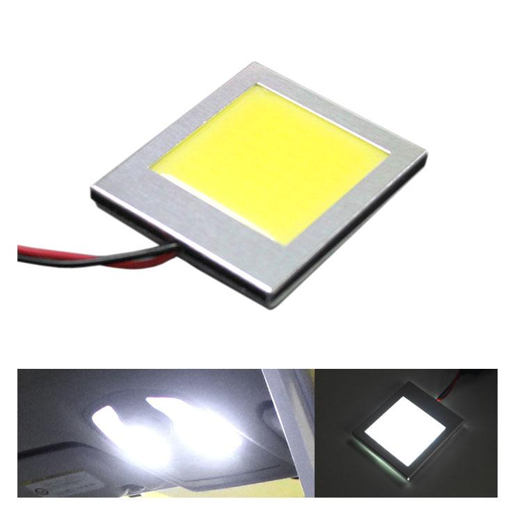 あす楽 面発光 LEDルームランプ 60mm×20mm 2.4W ホワイト ラゲッジ ルーム球 ランプ ライト 汎用