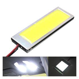 あす楽 面発光 LEDルームランプ 40mm×35mm 3W ホワイト ラゲッジ ルーム球 ランプ ライト 汎用