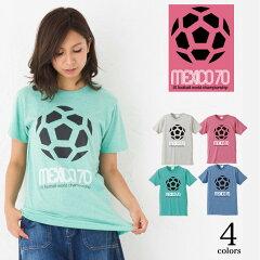 4.4ozトライブレンドプリントTシャツ半袖|メキシコ70|XS~XLサイズ、メンズ・レディース、お揃い・ペアルック◎|GRACIOUSGROUND(グレイシャスグラウンド)|【メール便、レターパック対応】【auktn】