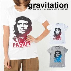 チェゲバラ Tシャツ メンズ レディース お揃い ペアルック 半袖 父の日 ギフト サッカー フットボール gravitation キューバの革命家、反骨と情熱の象徴 Pasion [Che] チェ ゲバラ Tシャツ プリント