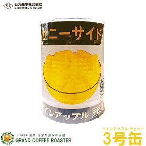 【石光商事】サニーサイド パインアップルチビット(1/8カット済み)3号缶詰・業務用