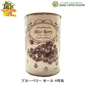 ケース【石光商事】ブルーベリー 4号缶詰(固形量:170g) 48缶・業務用