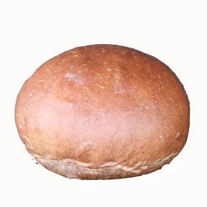 デザートバーガー用(チョコ生地)■128個■バンズ直径10cmレギュラー/国産小麦・無添加【冷凍出荷】