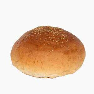 ハンバーガー用グラハムバンズ■256個■《ゴマ付、ビッグ12cm》国産小麦・無添加【冷凍出荷】