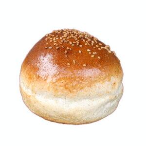ハンバーガー用グラハムバンズ《ゴマ付き》■64個■レギュラー直径9cm【冷凍出荷】