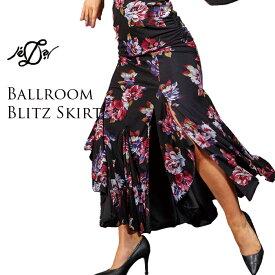 社交ダンス スカート 送料無料 練習着 Je'Dor ジェドール ボールルーム・ブリッツ・スカート(アルセア) モダン スタンダード 社交ダンス衣装 ダンス レディース 女性 S-L 海外