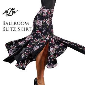 社交ダンス スカート 送料無料 練習着 Je'Dor ジェドール ボールルーム・ブリッツ・スカート(カメリア) モダン スタンダード 社交ダンス衣装 ダンス レディース 女性 S-L 海外