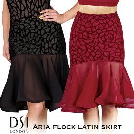 スーパーセール価格 社交ダンス スカート DSIロンドン DSI London アリア・フロック・ラテンスカート - 社交ダンス 社交ダンス衣装 社交ダンスウェア 衣装 スカート ラテン 海外 ブランド -