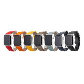 GRAMAS グラマス German Shrunken-calf Genuine Leather Apple Watchバンド(40-38mm) レザーバンド アップルウォッチバンド 高級 ビジネス ギフト 手首周り 約150〜190mm 対応