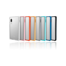 "【GRAMAS COLORS】AQUOS sense3/sense3 lite/sense3 basic/Android One S7 ケース ガラス 背面 ""Glassty"" Glass Hybrid Shell Case MILスペック 専用ケース カメラ保護"