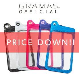 【公式】 GRAMAS グラマス iPhone8 Plus / iPhone7 Plus ケース 防滴ケース PRECISION Splash Proof case Large高級 ビジネス ギフト プレゼント