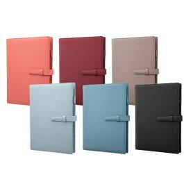 【GRAMAS】システム手帳 A5サイズ 手帳 方眼ノート メモ帳 シュリンクPUレザー GRAMAS Cultivate '21 System Organizer PU Shrink Leather ビジネス手帳 カード収納