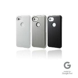 """【アウトレット】GRAMAS COLORS グラマス カラーズ Google Pixel 3a ケース カバー Hybrid Shell Case """"Rib"""" 高級 ビジネス ギフト プレゼント"""