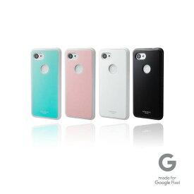"""【公式】 GRAMAS COLORS グラマス カラーズ Google Pixel 3a ケース カバー Glass Hybrid Shell Case """"Glassty"""" 高級 ビジネス ギフト プレゼント"""