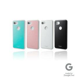 """【公式】 GRAMAS COLORS グラマス カラーズ Google Pixel 3a XL ケース カバー Glass Hybrid Shell Case """"Glassty"""" 高級 ビジネス ギフト プレゼント"""