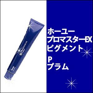 ホーユー hoyu プロマスターEX ピグメント P プラム 80g カラー剤/1剤/1液/業務用/おしゃれ染め/白髪染め