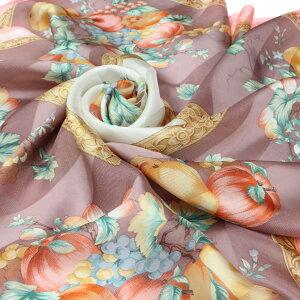 スカーフ日本製シルク絹シフォンレディース大判85×85正方形シルクスカーフストール