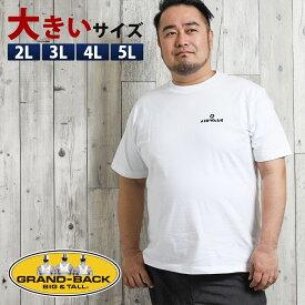 【大きいサイズ・メンズ】エアウォーク/AIRWALK バックプリント半袖Tシャツ
