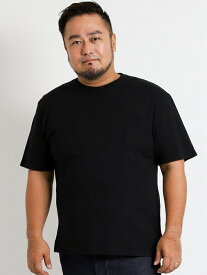 【大きいサイズ・メンズ】Real Masters (リアル マスターズ) ストレッチクルー半袖Tシャツ