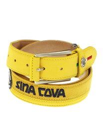 【大きいサイズ・メンズ】SINA COVA (シナコバ)ロゴ入りベルト35mm幅