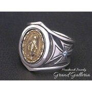 GrandGalleria(グランドガレリア)の聖母マリアメダイクロスリング
