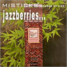 MISTICKS ミスティックス Jazzberries(ジャズベリー)スティックインセンス(お香)