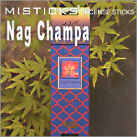 MISTICKS ミスティックス Nag Champa(ナグチャンパ)スティックインセンス(お香)
